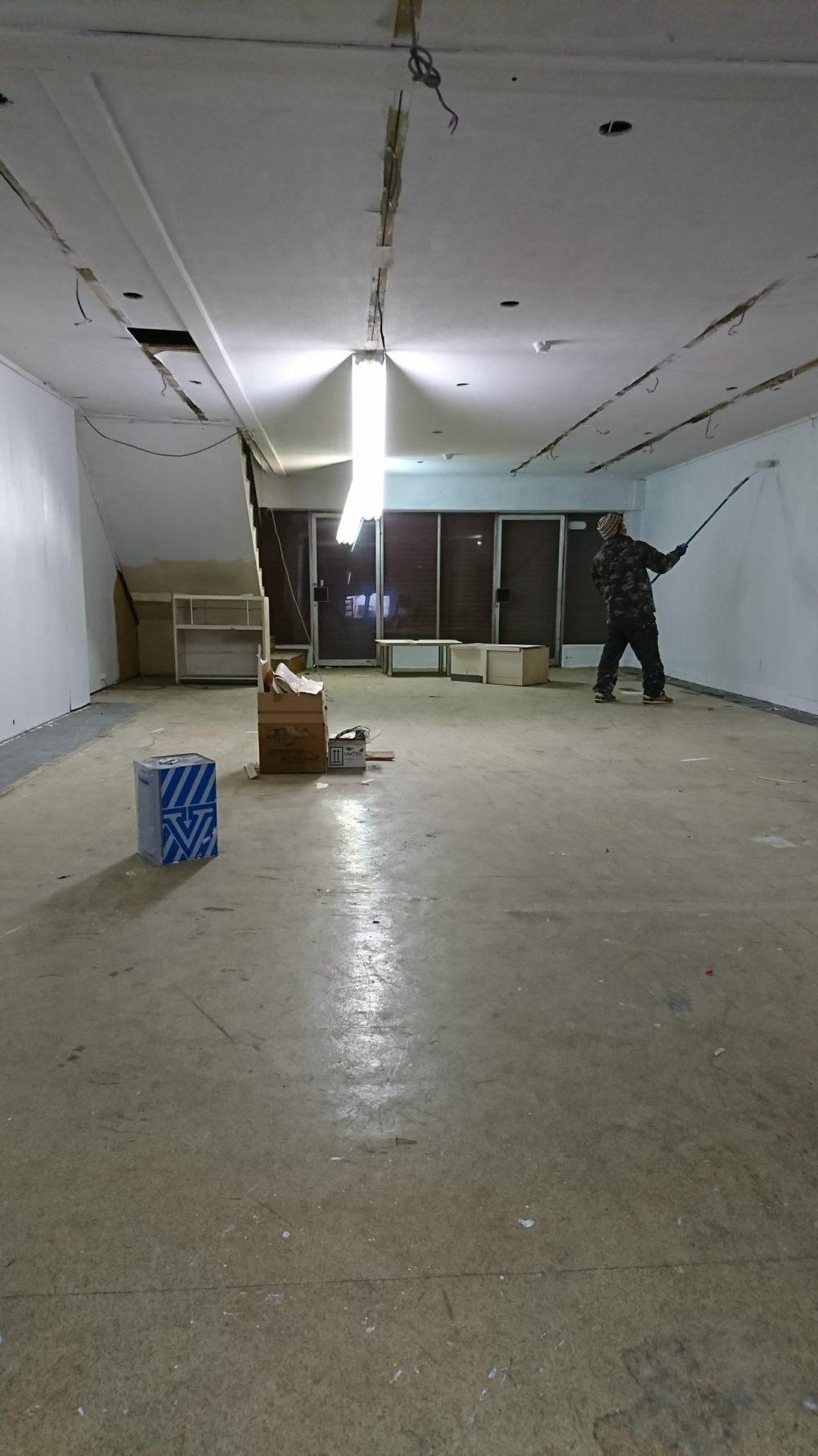 工房型店舗のセリフビルド