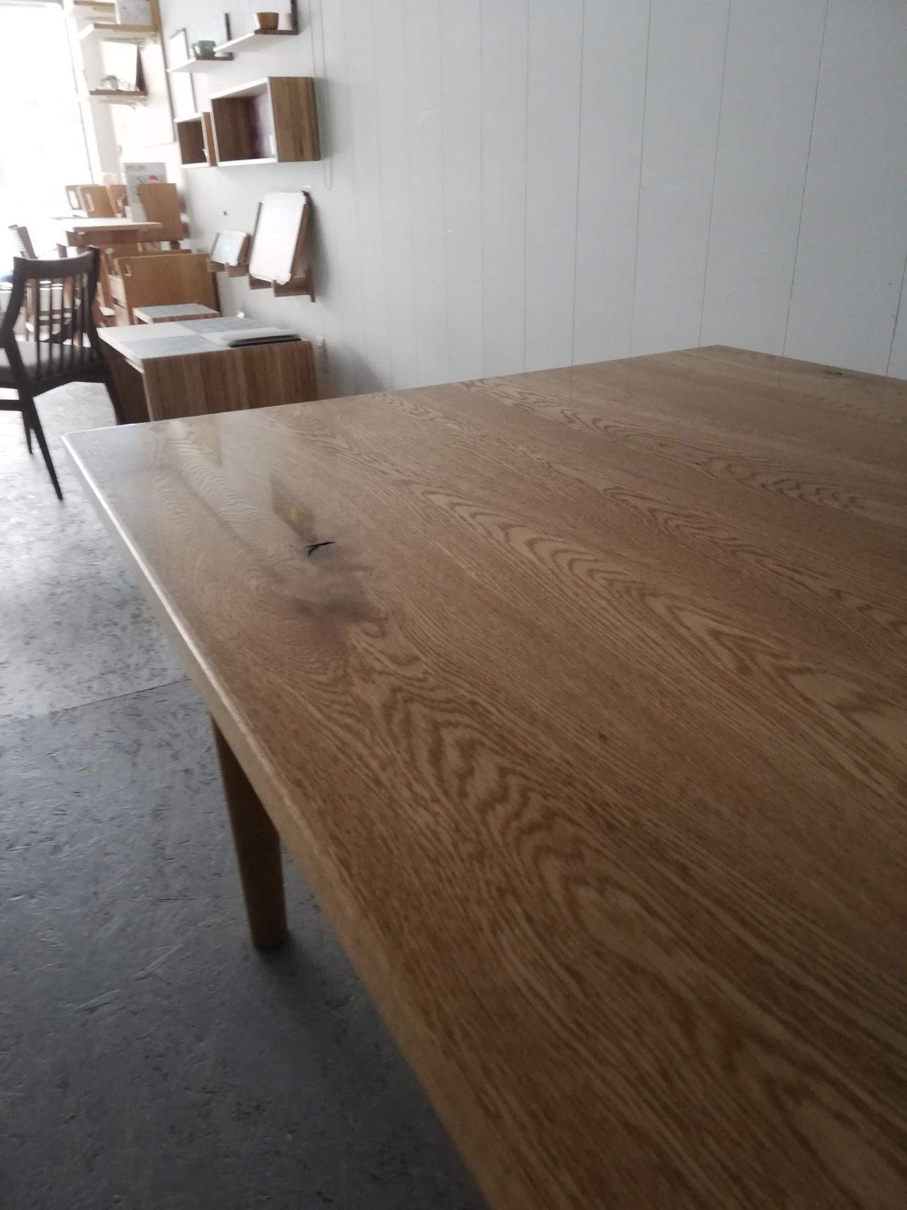 オーダー家具-ダイニングテーブルの天板