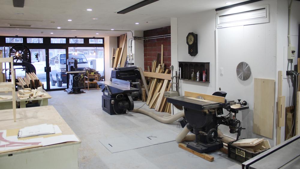 工房スペース