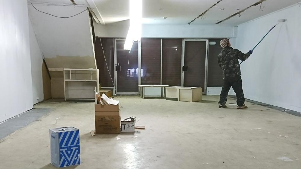 商店街からうまれる家具-セルフリノベの工房作り